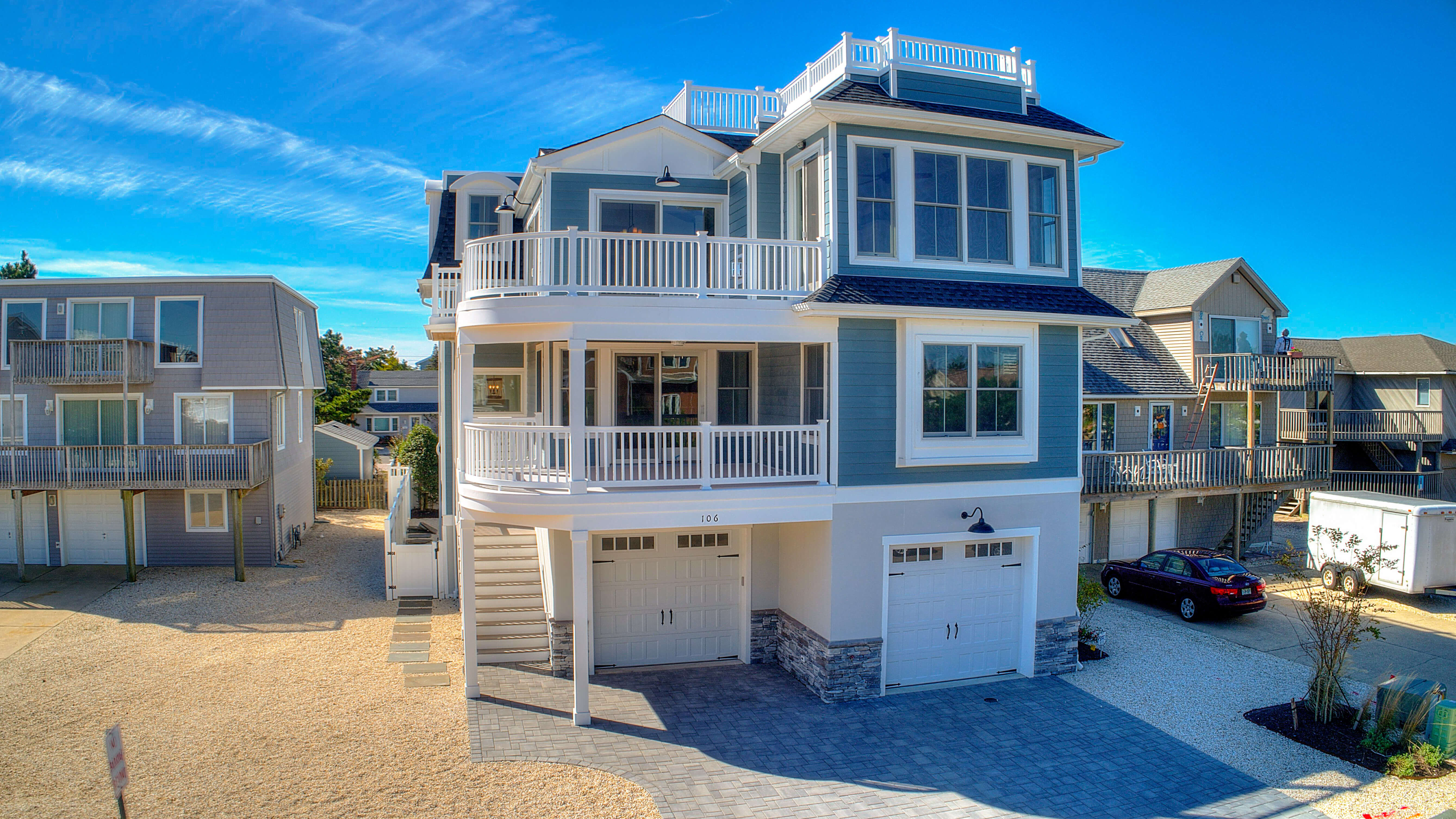 LBI New Construction Homes | 101 E Idaho Ave Haven Beach| LBI | Nathan Colmer